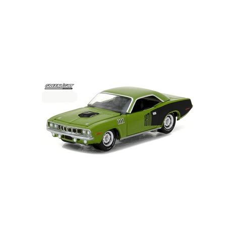 Greenlight 1971 Plymouth Hemi Cuda gl series 18 1971 plymouth hemi cuda