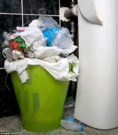 put a recycling bin in your bathroom daily mail
