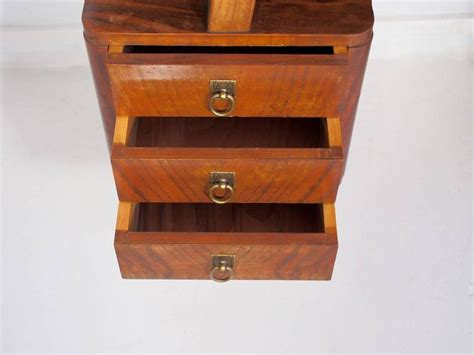 Small Italian Mahogany Writing Desk With Drawers For Sale Small Writing Desk With Drawers