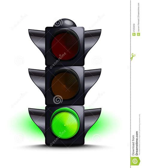 green light driving traffic light on green royalty free stock photos image