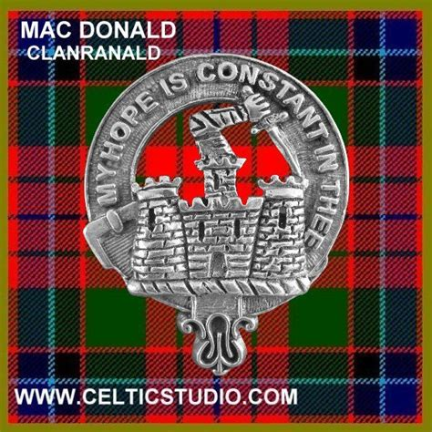 heeg coat of arms clan ranald macdonald family crest and tartan my family