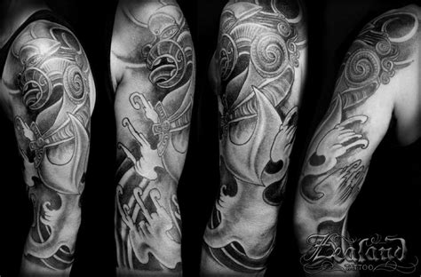 tailor made tattoo maori japanese gallery zealand