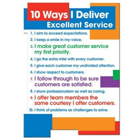 10 ways i deliver excellent service magnet customer