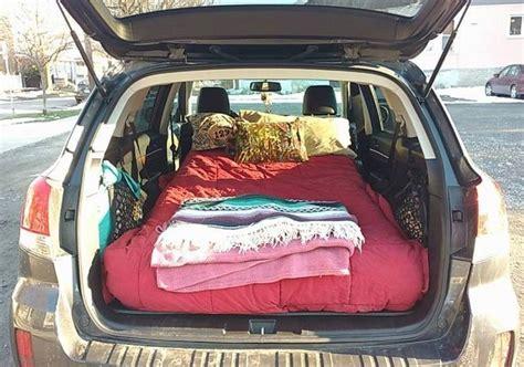 subaru bed 202 best hatchback cer images on pinterest caravan