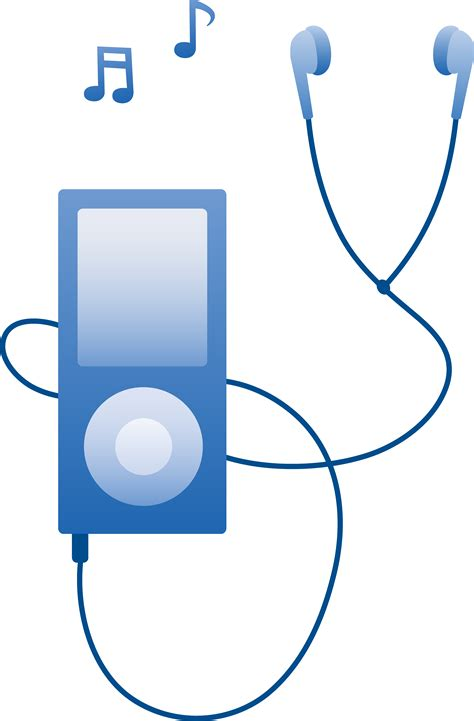 music clip mp music player clipart clipground
