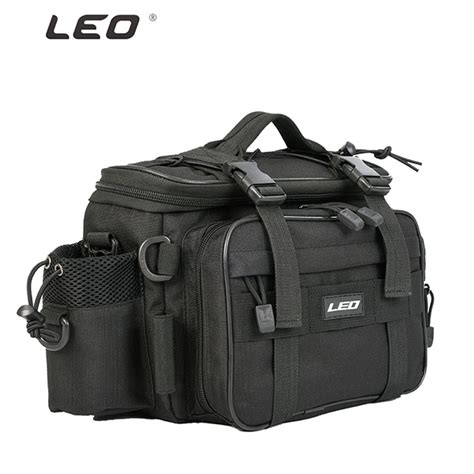 Leo Layer Fishing Rod Bag leo 1000d waterproof oxford cloth fishing tackle bag large capacity outdoor waist pack 40 17
