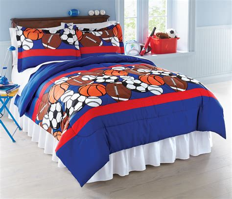 sport comforters collections etc sports themed bedroom comforter set