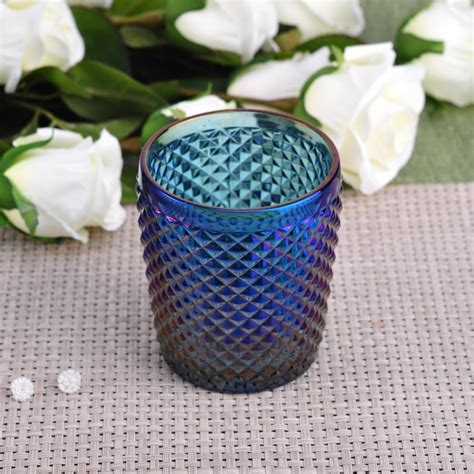 Glass And Iron Candle Holders by Cylinder Iron Plating Glass Candle Holder Decorative
