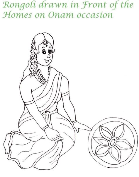 Free Coloring Pages Of For Pongal Festival Pongal Coloring Pages