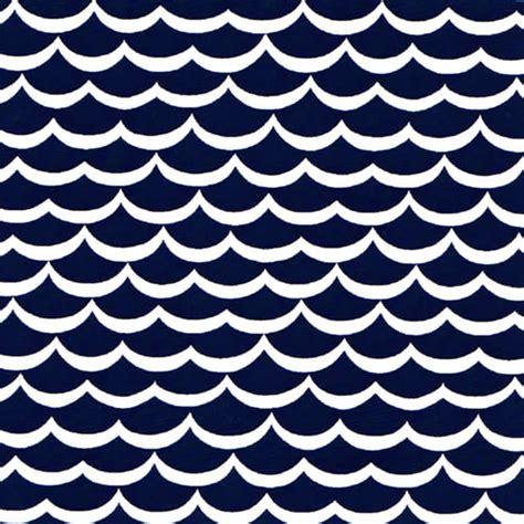 Navy Print wave fabric wave print fabric wholesale cotton fabric