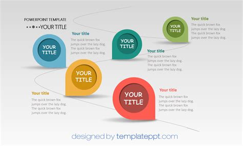 free interactive powerpoint templates roadmap journey powerpoint template powerpoint