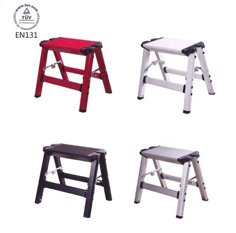 lightweight portable folding stool household folding step ladder aluminum alloy small fishing