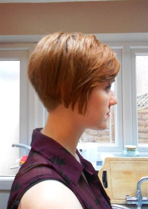 clippered back bob haircut pinterest the world s catalog of ideas