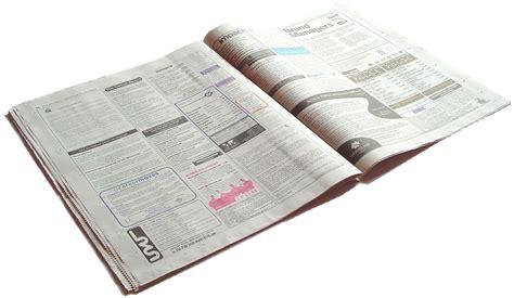 newspaper job section newspaper job section photograph 1427231 freeimages com