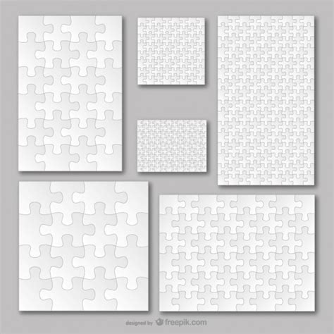 jigsaw pattern psd puzzle template vectors photos and psd files free download