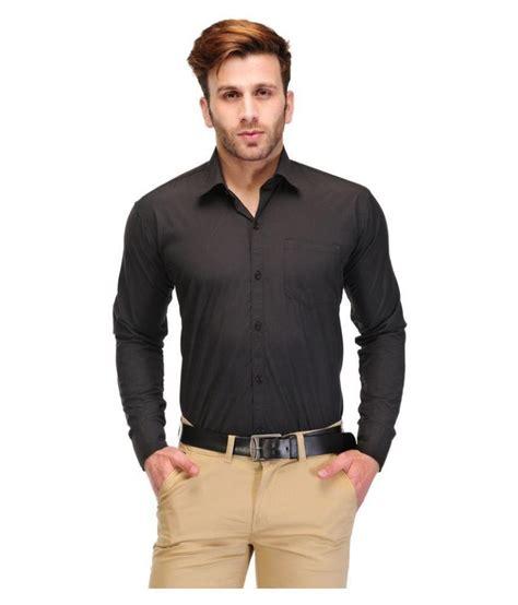 unique for black formal slim fit shirt buy unique