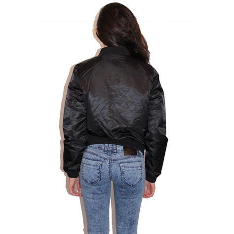 Bomber Sevendenim black bomber jacket