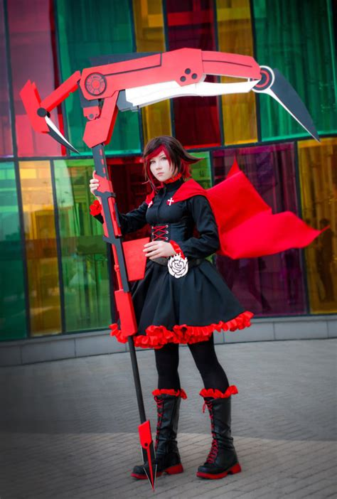 Kaos Anime Rwby Ruby 02 rwby ruby rose 02 by slivovayasva on deviantart