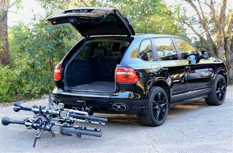 Bike Rack For Porsche Cayenne by Isi Advanced 4x4 Bicycle Carrier And Bike Rack Systems Porsche Cayenne 4x4 Bicycle Carrier