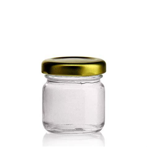 vasi di vetro per conserve 40ml vasetto in vetro con tappo a vite twist 43
