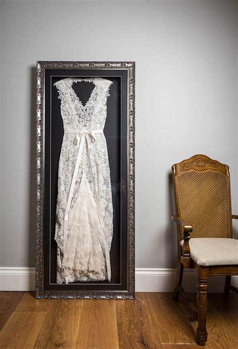 wedding dress frame ideas  preserve  precious memories