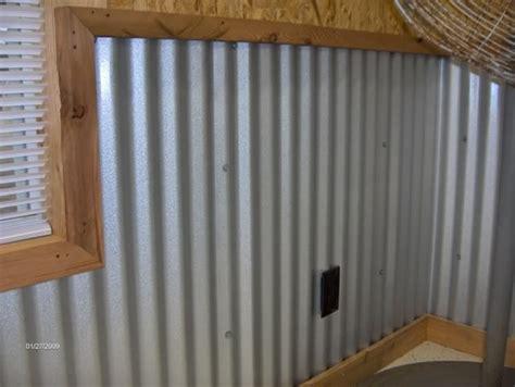 garage walls corrugated metal    gave
