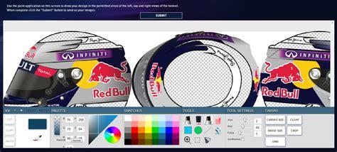 helmet design contest 2015 formula 1 red bull racing fans design vettel s helmet for