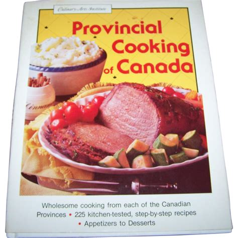 professional cooking for canadian chefs books cover cook book provincial cooking of canada culinary