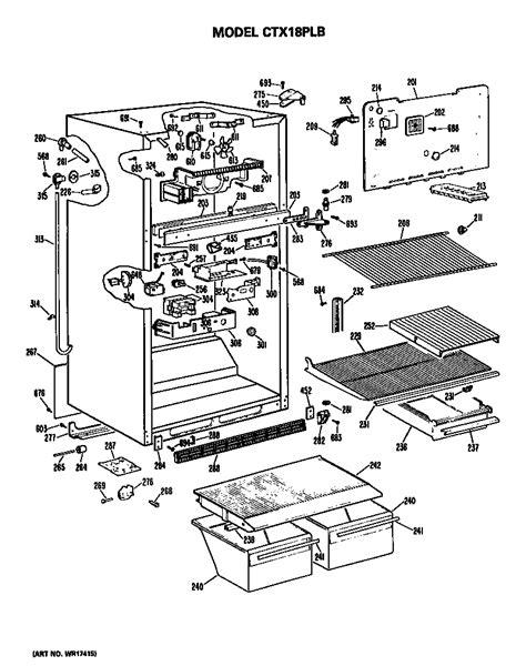 hotpoint refrigerators parts model ctxplbrad sears