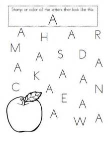 great for pre k letter recognition learning activities