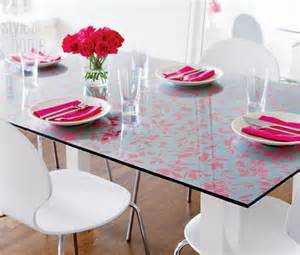 Glass Desk Cover by Creative Diy Wallpaper For A Special Touch