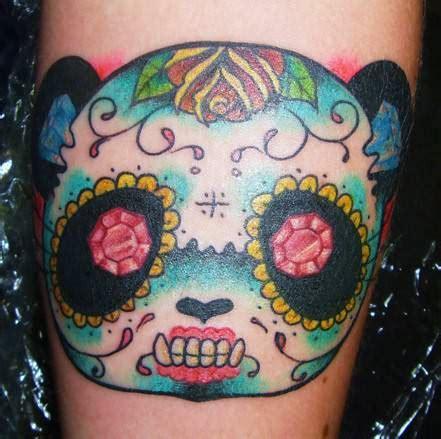 panda tattoo skull panda tattoos page 3