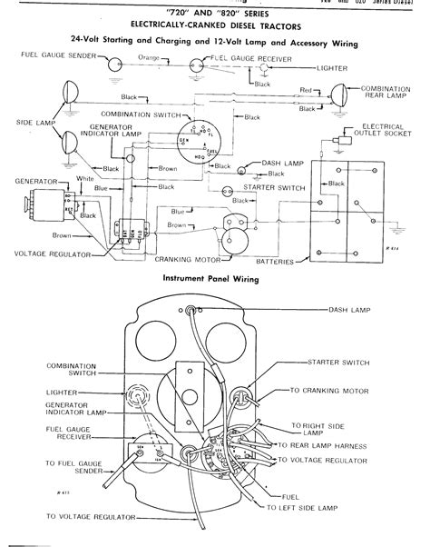 5 best images of deere alternator wiring diagram