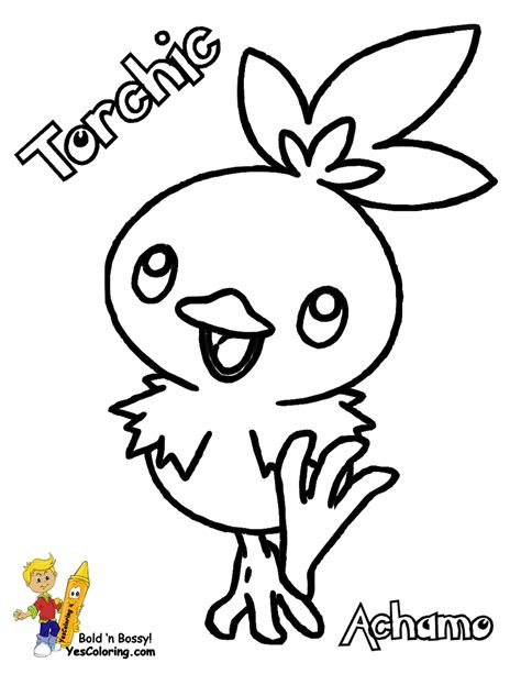pokemon coloring pages torchic run boy to coloring pages to print pokemon 10 treecko