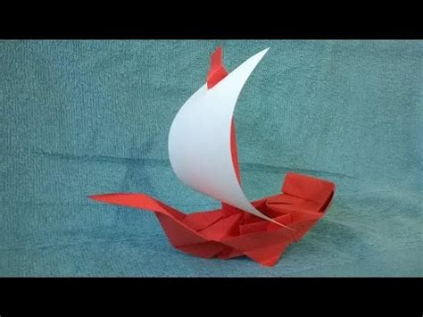 How To Make A Origami Pirate Ship - como hacer un barco pirata de papel origami origami