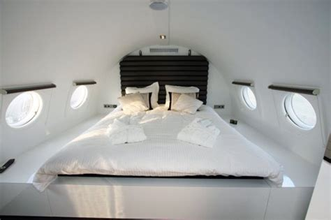 beds on planes plane hotels sleeping on airplanes without the turbulance