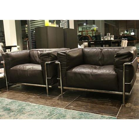 armchair outlet cassina lc3 armchair outlet desout com