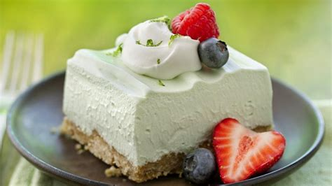 Light Dessert Ideas by Light And Fluffy Key Lime Dessert Squares Recipe From