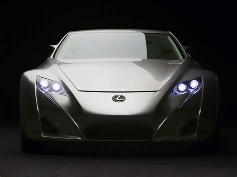 lexus concept sports car all the car