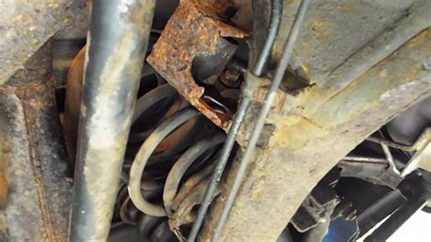 kia sorento rear axle problems 2004 kia sorento rust damage