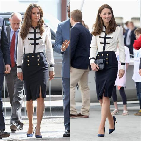 Were The Same But One Wears A Skirt by Kate Middleton Style The Duchess Of Cambridge S Styling