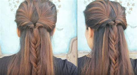 easy and quick daily hairstyles 3 quick and easy everyday heatless braided hairstyles