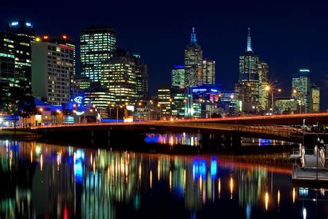 cool wallpaper melbourne cityscape desktop wallpaper wallpapersafari