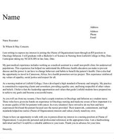 Pca Cover Letter by Cover Letter Exles For Rn The Pitfalls Of Essay