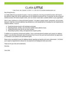 cover letter for substance abuse counselor leading professional and counselor cover