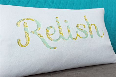 How To Make A Paper Pillow - how to make an easy typography pillow makely
