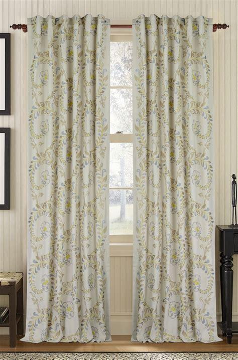 cotton drapery panels muriel kay vintage linen cotton drapery panel