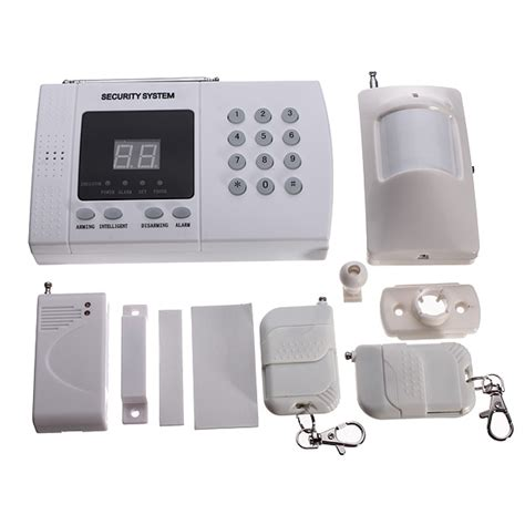 wireless autodial phone burglar home security alarm system