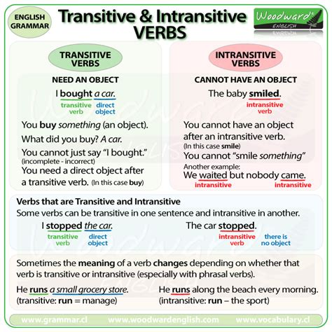 sentence pattern intransitive verb transitive and intransitive verbs in english grammar
