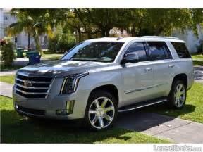 Leasing A Cadillac Escalade 2016 Cadillac Escalade Luxury Suv Lease Lease A Cadillac
